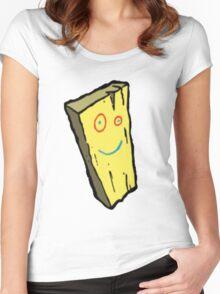 Ed, Edd N Eddy Plank Design  Women's Fitted Scoop T-Shirt