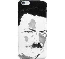 Ron Swanson - White iPhone Case/Skin