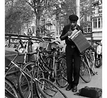 Music for the bicycles Photographic Print