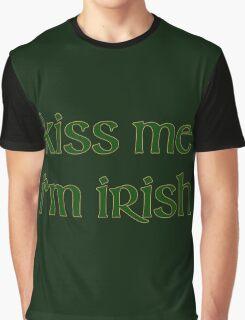 Kiss Me I'm Irish Graphic T-Shirt