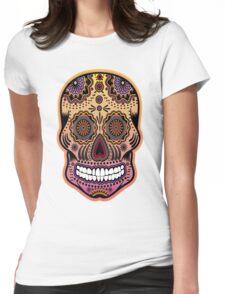 dia de los muertes 3 Womens Fitted T-Shirt