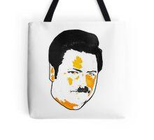 Ron Swanson - Orange  Tote Bag