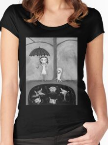 The Monster Tree Women's Fitted Scoop T-Shirt