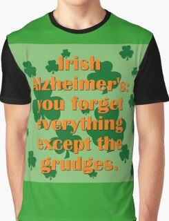 Irish Alzheimers Graphic T-Shirt