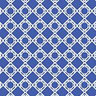 Pattern - White and Blue - See by Winterrr