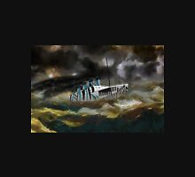 A digital painting of RMS Titanic's Senior Sister RMS Olympic Unisex T-Shirt