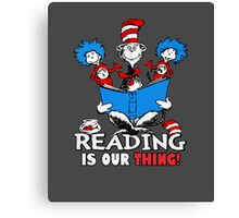 Read across America day 2016 Canvas Print
