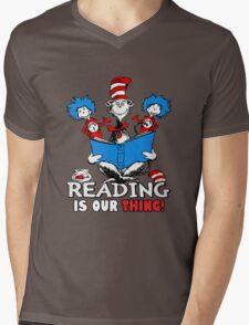 Read across America day 2016 Mens V-Neck T-Shirt