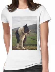 Indy over the hill  Womens Fitted T-Shirt