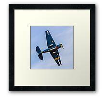 """Eastern TBM-3E Avenger 53319 HB-RDG """"Charlie's Heavy"""" Framed Print"""