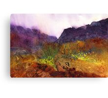 Wild Daffodils Canvas Print