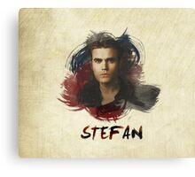 Stefan - The Vampire Diaries Canvas Print