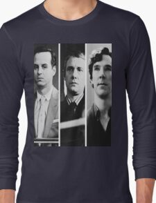 Sherlock - Jim Moriarty, John Watson, Sherlock Holmes Long Sleeve T-Shirt