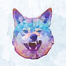 smiling wolf by Ancello