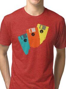 Diskettes Tri-blend T-Shirt