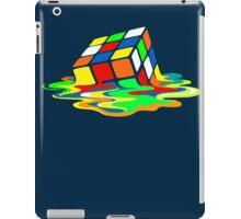 Big Bang Theory Sheldon Cooper Melting Rubik's Cube cool geek iPad Case/Skin