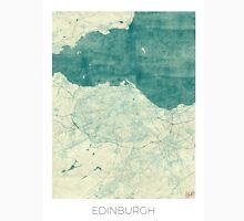 Edinburgh Map Blue Vintage Unisex T-Shirt