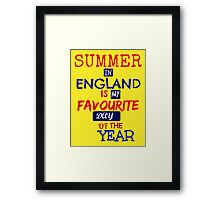 British Summer Time ... Framed Print