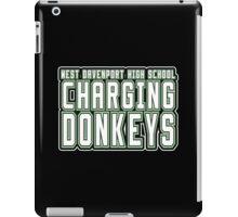 CHARGING DONKEYS iPad Case/Skin
