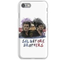 Salvatore Brothers - The Vampire Diaries iPhone Case/Skin