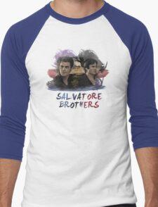 Salvatore Brothers - The Vampire Diaries Men's Baseball ¾ T-Shirt