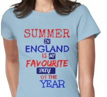 British Summer Time ... Womens Fitted T-Shirt