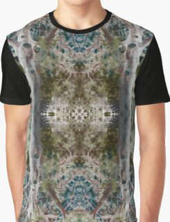 Nature Pattern Abstract Graphic T-Shirt