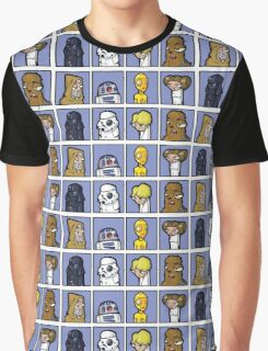Star Wars Cartoon Graphic T-Shirt