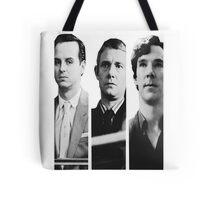Sherlock - Jim Moriarty, John Watson, Sherlock Holmes Tote Bag
