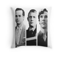 Sherlock - Jim Moriarty, John Watson, Sherlock Holmes Throw Pillow