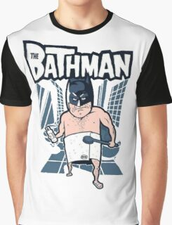 The Bathman (Incredible super hero with washing superpowers) Graphic T-Shirt