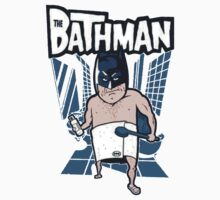The Bathman (Incredible super hero with washing superpowers) Kids Tee
