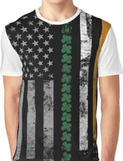 Irish Shamrocks St. Patricks Day Graphic T-Shirt