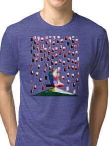 TOP OF THE WORLD Tri-blend T-Shirt
