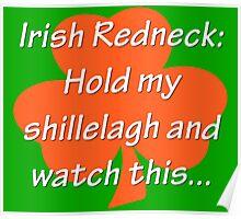 Irish Redneck Poster