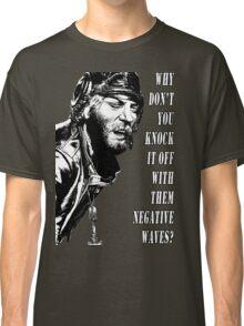 Oddball Says - black & white Classic T-Shirt
