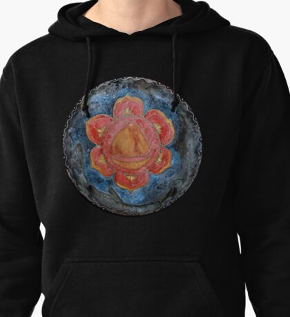 Swadhisthana - the second chakra Pullover Hoodie