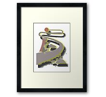 LONG ROAD TO THE SUN Framed Print