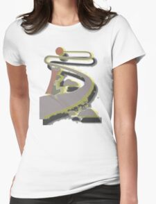 LONG ROAD TO THE SUN Womens Fitted T-Shirt