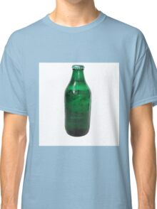 Isolated Green Beer Bottle Classic T-Shirt