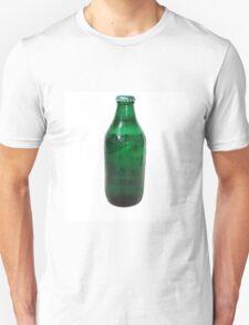 Isolated Green Beer Bottle Unisex T-Shirt