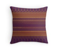 Knit knit Throw Pillow