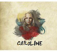 Caroline - The Vampire Diaries Photographic Print