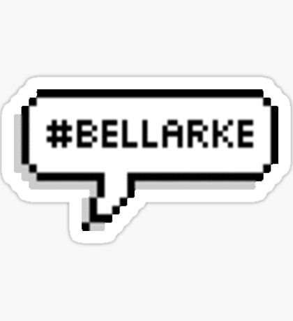 Bellarke Textbubble Sticker