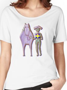 GIFT HORSE Women's Relaxed Fit T-Shirt