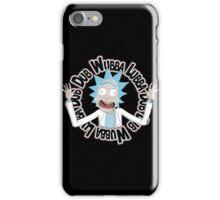 Dubb Dubb Baa - Rick Morty iPhone Case/Skin