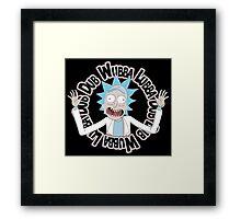 Dubb Dubb Baa - Rick Morty Framed Print