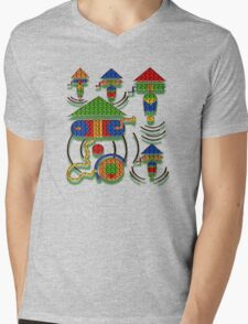 WISHING WELL Mens V-Neck T-Shirt