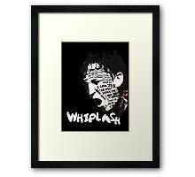 Whiplash Framed Print