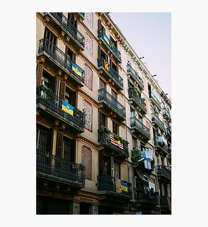 Typical Building In Barcelona Photographic Print
